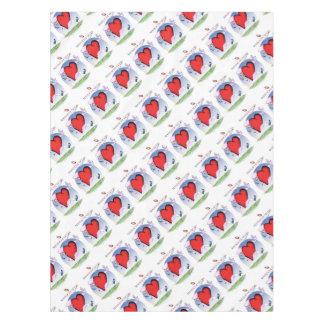massachusetts head heart, tony fernandes tablecloth