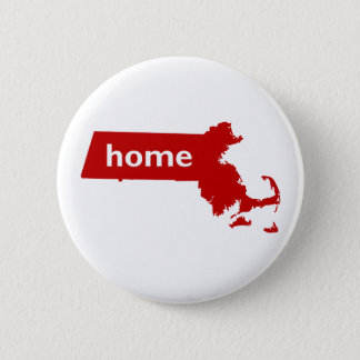 Massachusetts Home 6 Cm Round Badge
