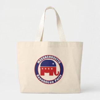 Massachusetts Republican Party Canvas Bags