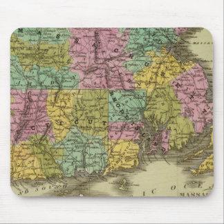 Massachusetts Rhode Island And Connecticut 2 Mouse Mat