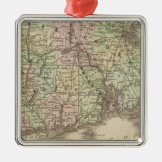 Massachusetts, Rhode Island, and Connecticut Christmas Ornament