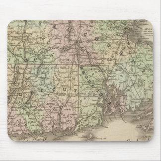 Massachusetts, Rhode Island, and Connecticut Mouse Mat