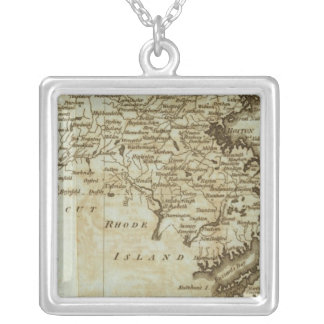 Massachusetts Silver Plated Necklace