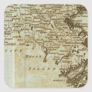 Massachusetts Square Sticker
