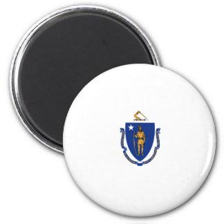 Massachusetts State Flag Magnet