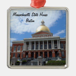 Massachusetts State House, Boston Christmas Ornament