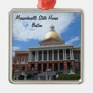 Massachusetts State House, Boston Silver-Colored Square Decoration