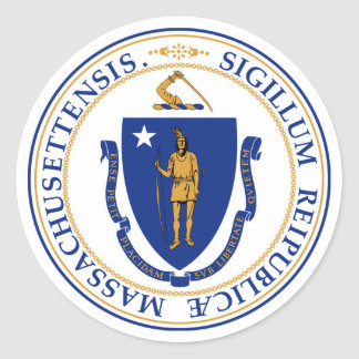 Massachusetts state seal america republic symbol f
