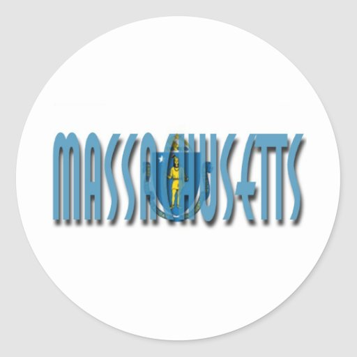 Massachusetts Stickers