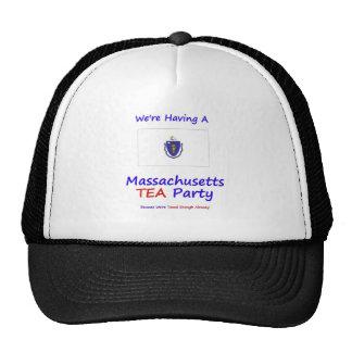 Massachusetts TEA Party We're Taxed Enough Already Cap