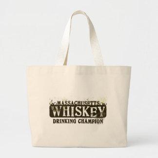 Massachusetts Whiskey Drinking Champion Bags