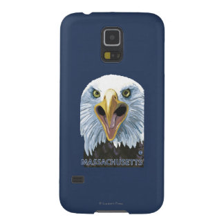 MassachusettsEagle Up Close Cases For Galaxy S5