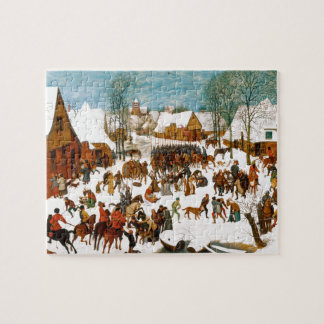 Massacre of the Innocents by Pieter Bruegel Puzzle