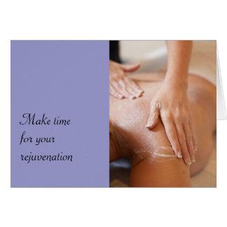 Massage & Bodywork Photos Greeting Card