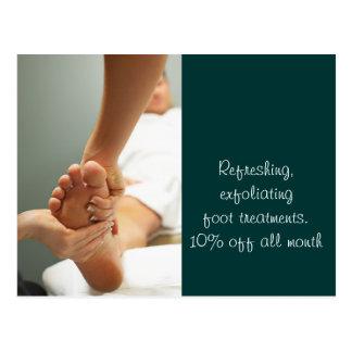 Massage Bodywork Photos Post Card