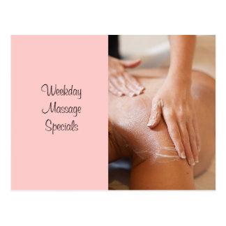 Massage & Bodywork Photos Postcard