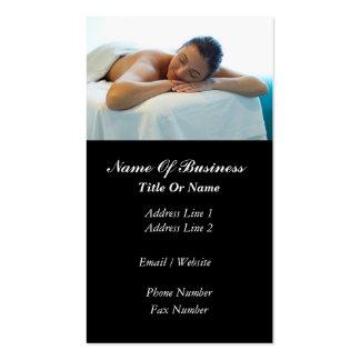 Massage Business Card