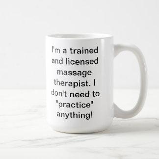 Massage Humor Coffee Mug