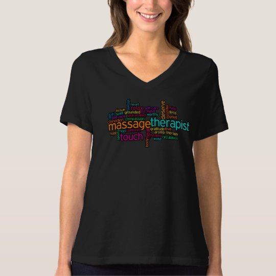 Massage T-Shirt: Massage Therapist T-Shirt