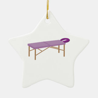 Massage Table Christmas Ornament