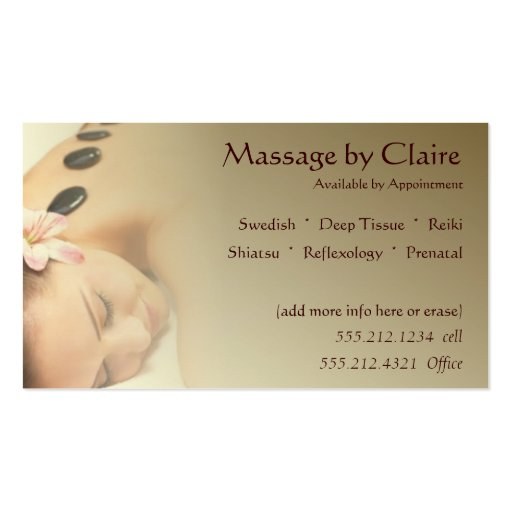 business daydreams therapeutic massage