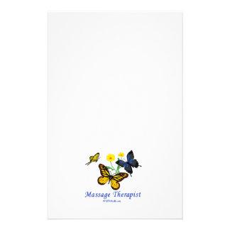 Massage Therapist Butterflies 14 Cm X 21.5 Cm Flyer