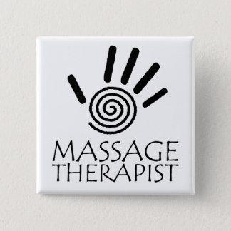 Massage Therapist Button