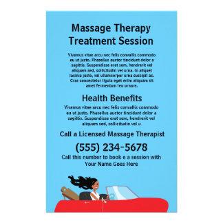 Massage Therapist Flyer
