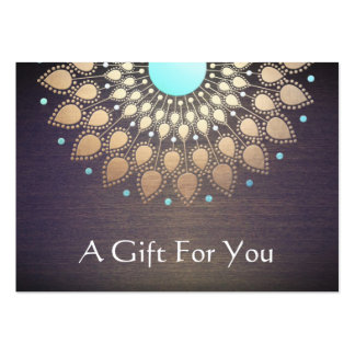 Massage Therapist Gift Card Pack Of Chubby Business Cards
