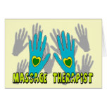 Massage Therapist Gifts Greeting Card