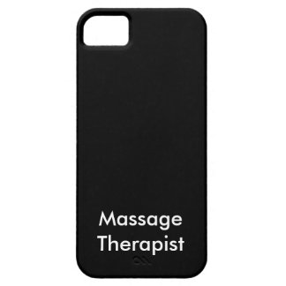 Massage Therapist iPhone 5 Cases