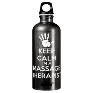 Massage Therapist - Keep Calm Water Bottle
