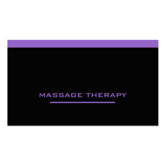 Massage Therapist Pack Of Standard Business Cards