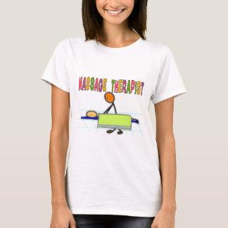Massage Therapist Stick People Design  Gifts T-Shirt
