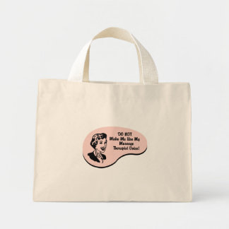 Massage Therapist Voice Canvas Bags
