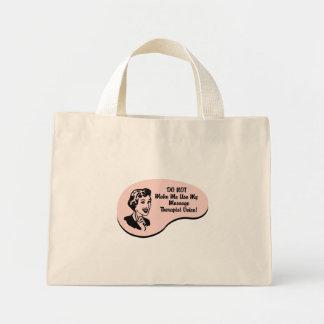 Massage Therapist Voice Mini Tote Bag