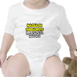 Massage Therapists...Cool Kids of Med World Baby Bodysuits