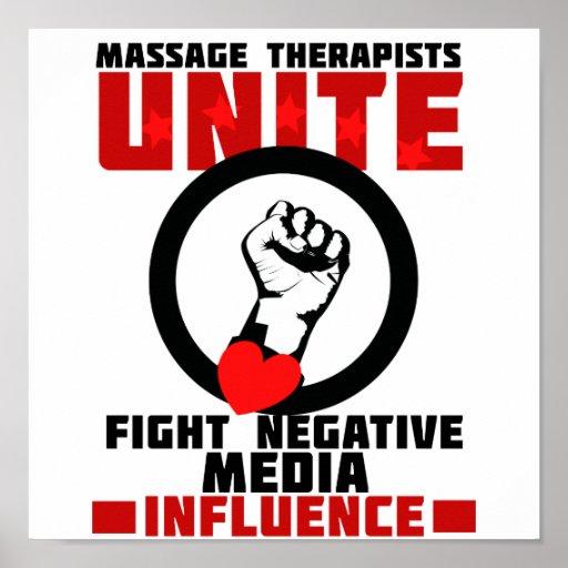 Massage Therapists Unite Print