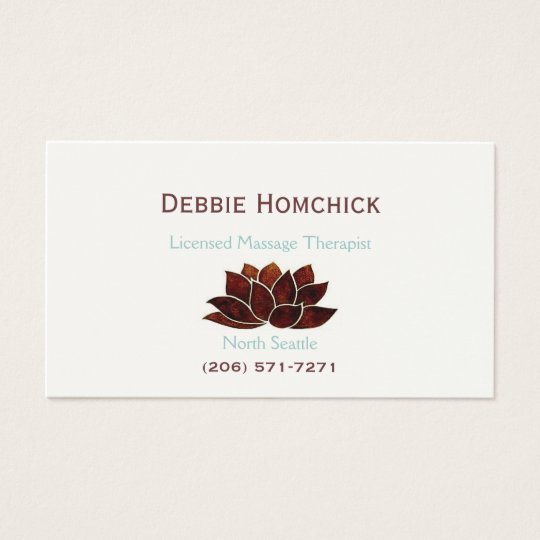 Massage therapy business cards business card printing zazzle uk massage therapy business card colourmoves