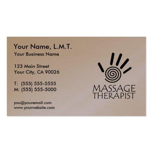 Premium Massage Business Card Templates Page5