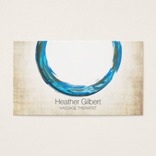 Massage Therapy Business Cards | Elegant