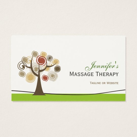Massage Therapy - Elegant Tree of Life Business