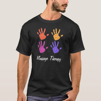 Massage Therapy mens shirt dk