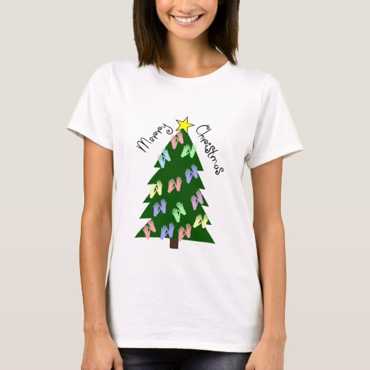 Massage Therapy MERRY CHRISTMAS Gifts T-Shirt
