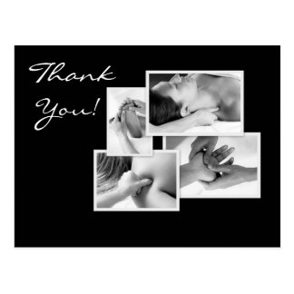 Massage Therapy Thank You Postcard