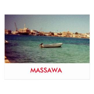 MASSAWA POSTCARD
