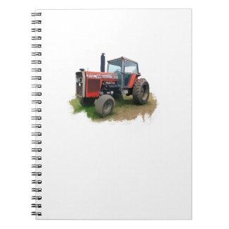 Massey Ferguson Red Tractor in the Field Notebooks
