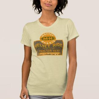 Massey Harris Tractor Velvet ride T-Shirt
