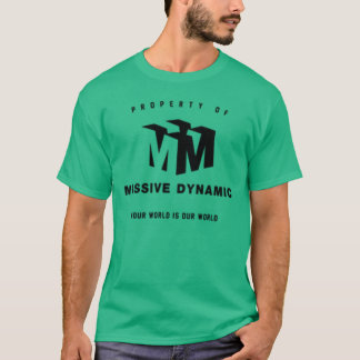 Massive Dynamic green t-shirt