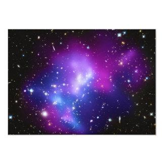 Massive Galaxy Cluster MACS J0717 13 Cm X 18 Cm Invitation Card